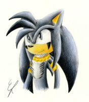 Ares the Hedgehog by EllyTheGee