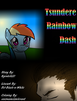Tsundere Rainbow Dash: Title Page by usernameirrelevant