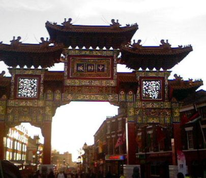 liverpool chinatown by PenguinQueenApril
