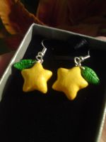 Paopu Fruit Earrings by EMort