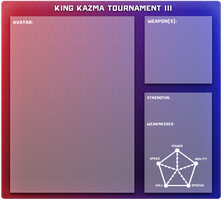 [OZ] King Kazma Tournament III Application by ShutUpChibsi