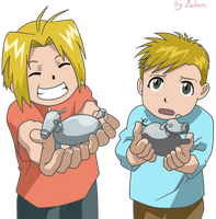 Edward y Alphonse by adinx83