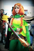 Windranger (DotA 2) - The Northern Wind by ver1sa