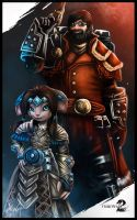 Ciarian Kirk and Yullma by kylexy8835