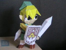 Wind Waker Link papercraft by may7733