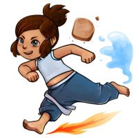 Young Korra by courtneygodbey