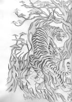 tiger by expressiontattooing