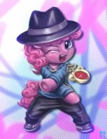 Filly Pinkie The Rapper by mrs1989
