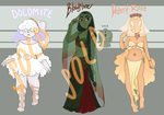 CLOSED fancy gem adopts by noodlesqueen