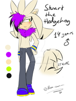 .:Ref:. Stuart the Hedgehog by SilverfanNumberONE