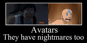 Avatar nightmares by I-wuv-Bolin