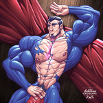 Famous Bread: Superman by TheFabulousCroissant