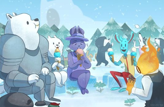 the frozen treat that warms your heart by scrii