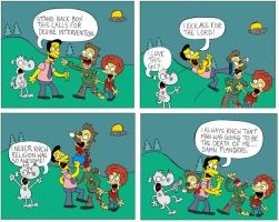 Ned Flanders zombie by cowtoon