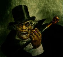 Mr Hyde..A Friend of Dr Jekyll by fenice8