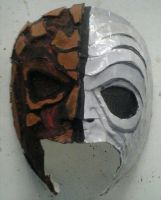Da Kurlzz NFTU Performance Mask by KyleThaArtist