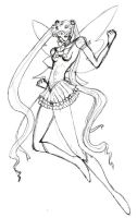 Sailormoon - DC Styled Sort of by wunleebuxton