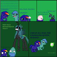 Hail the Changling Queen by Stickman16