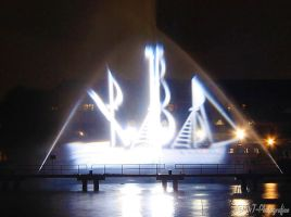 FESTIVAL OF LIGHTS 2015 - ghost Ship- by MT-Photografien