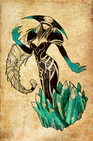 LIssandra The Ice Witch, again by indecentdecendant