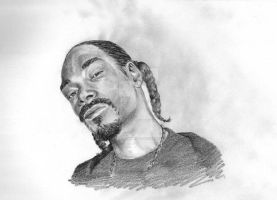 Snoop Dogg portrait by TheSerialDrawer