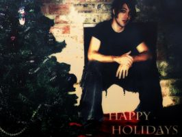 Happy Vampiric Holidays by Ferelwing