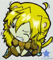 Lion!Yang (colored) by criselaine