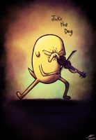 Jake the Dog by The-Spooky-Man