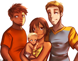 :Family Portrait: by RabidK-9