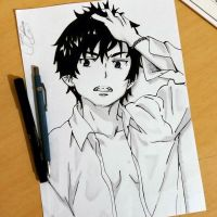 Okumura Rin by SnitchWing