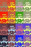 Pop Art : Marilyn Manson Faces by GAB-Bloodwing