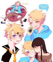 Youngest Member Yoosung! by Butter-Tea