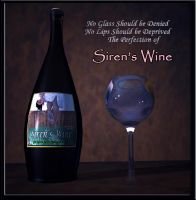 Sirens Wine Ad by restif