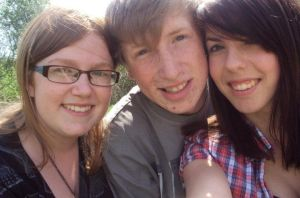 my and my friends enjoying the sunny weather. by EllieHickles95