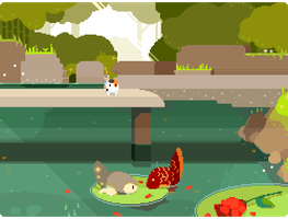 a day at the pond by rainslick