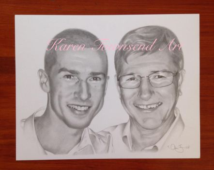 Father and Son by Karentownsend