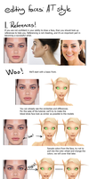 Bad editing face step by step by AvannTeth