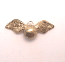 snitch of Harry Potter miniature charm by MiniSweetx