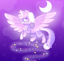 Spacey Stars .:CE:. by RoseyWingedCat