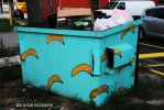 Banana Dumpster by NickBentonArt