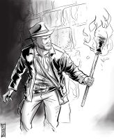Indiana Jones by Supajoe