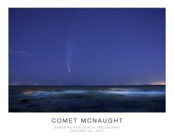 Comet McNaught by litecreations