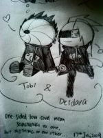 TobiDei one sided luv by emokiss-ringingbell