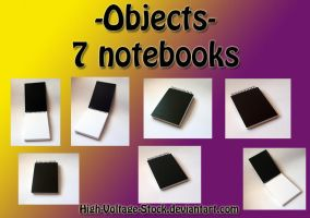 Object stock- Notepad by High-Voltage-Stock