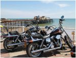 bikes and pier by Tiger--photography