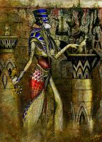 Cat wall by KnightChan