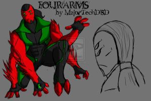 Four Arms IH Design by IHComicsHQ
