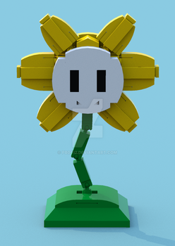Lego Undertale Flowey 1 by pb0012