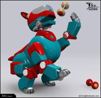 Aibo pose05 by D3r3x