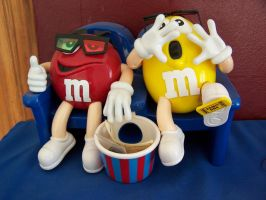 M and Ms getting wasted by awe-inspired